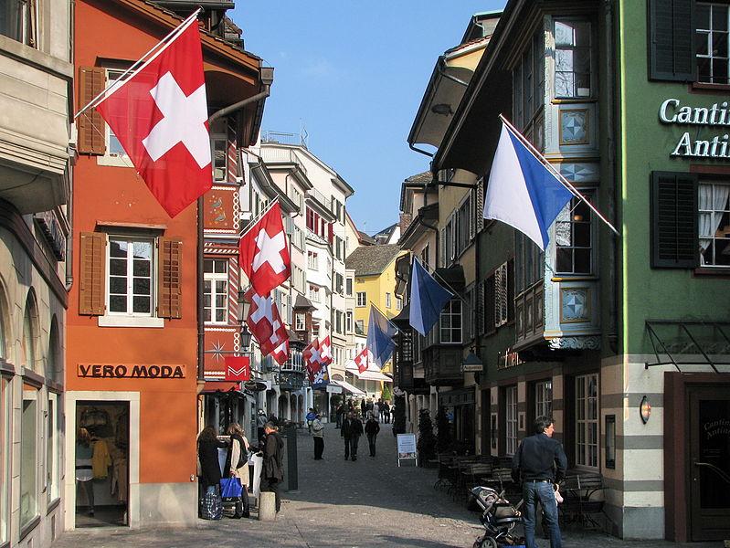 Zürich. ©Wikimedia Commons