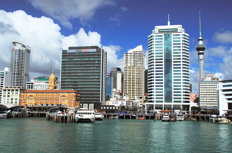 Auckland © Wikimedia Commons