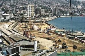 Muelle Barón Valparaíso