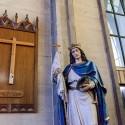 Catedral San Mateo de Osorno Escultura Rey