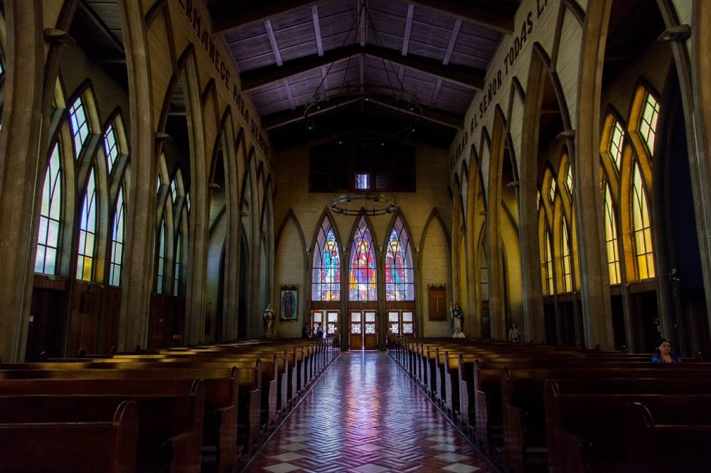 Catedral San Mateo de Osorno Vitrales