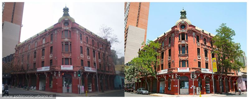 Fotos de Sebastián Aguilar O. y Sergio López R. respectivamente. Vía patrimonio-urbano.cl