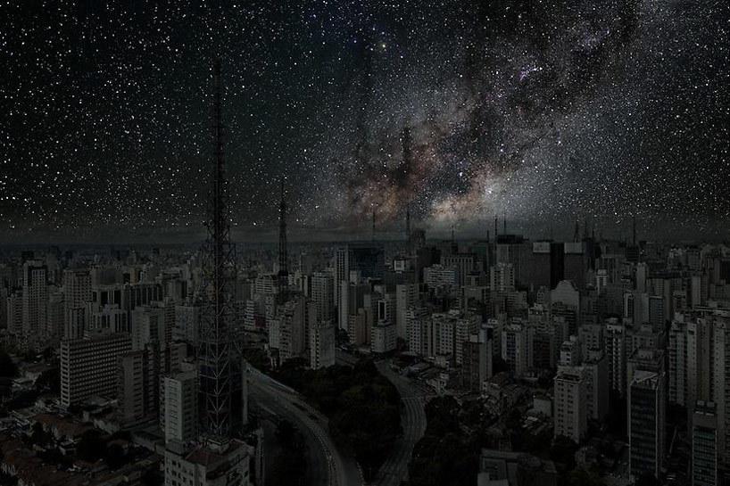 Sao Paulo.  Image © Thierry Cohen