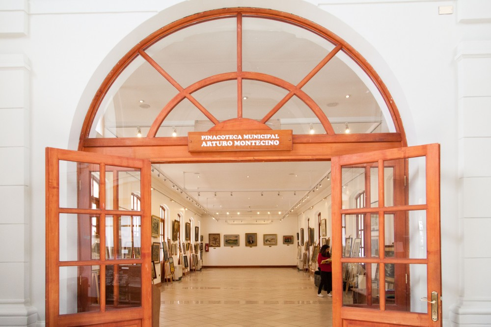 Pinacoteca del Museo Interactivo de Osorno. © Andrea Manuschevich para Plataforma Urbana
