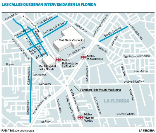 Zonas 30 La Florida Santiago