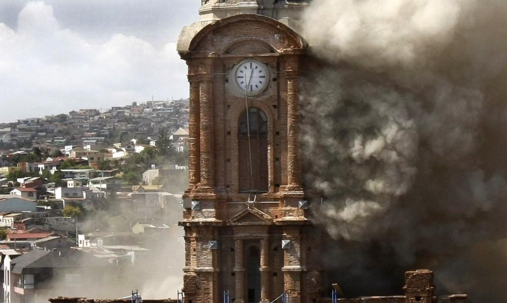 Iglesia de San Francisco, Valparaíso, Chile. Imagen © Vía Yoparticipo.wordpress.com