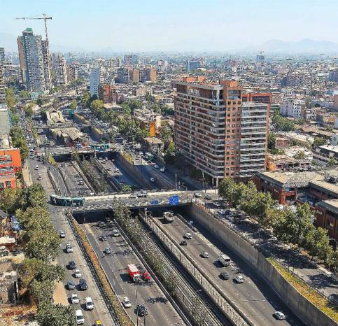 Autopista Central Santiago