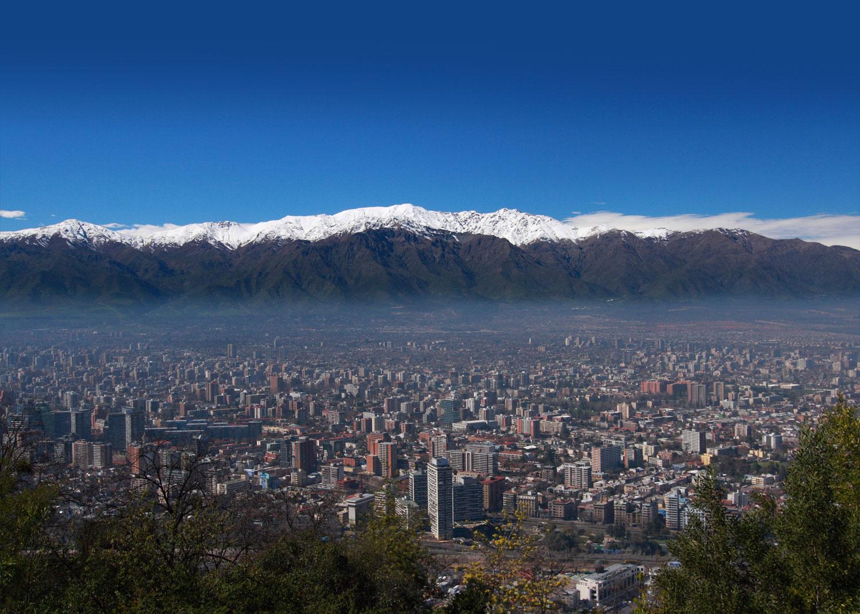 Santiago se incorpora al programa clima y aire limpio en for Papeles murales en santiago de chile