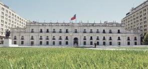 Pasto en La Moneda