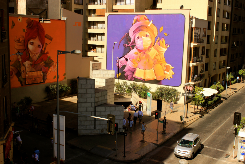 Ekekos Barrio Lastarria 1