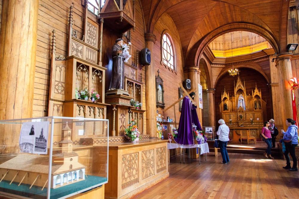 Jesús de Nazareno en la Iglesia San Francisco de Castro. ©