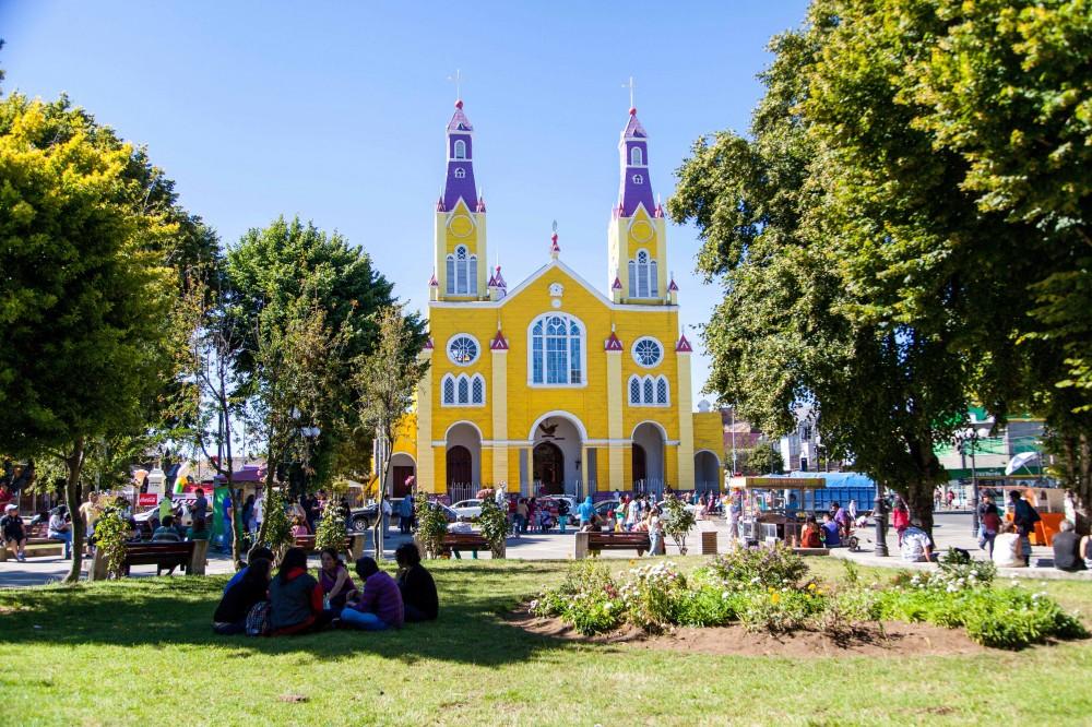 Plaza de Armas Castro. © Andrea Manuschevich para Plataforma Urbana.