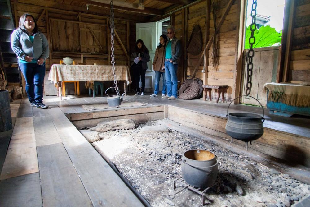 Fogón en el Museo de las Tradiciones Chonchinas. © Andrea Manuschevich para Plataforma Urbana.