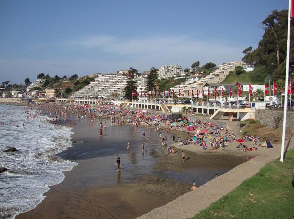 Playa Amarilla Concón