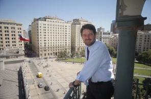 Claudio Orrego Intendente de Santiago
