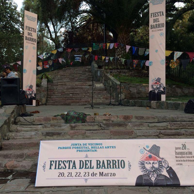 Fiesta del Barrio Lastarria y Bellas Artes 2