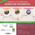 Recorre tres museos de Providencia en una caminata patrimonial