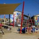 Museo a Cielo Abierto en barrio Ramón Cordero, Valparaíso. © Fundación Junto al Barrio.