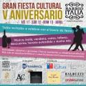 Corporación Barrio Italia celebra su V aniversario con una fiesta cultural