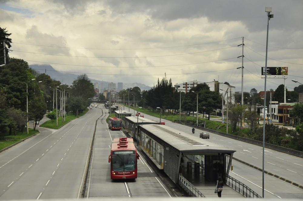 Bogotá, Colombia © EMBARQ Brasil, vía Flickr.