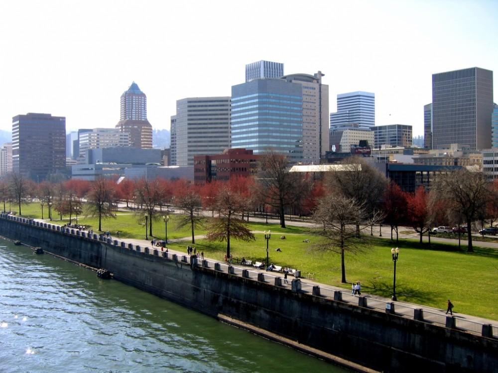 Parque Tom McCall en Portland. © Greg_e, vía Flickr.