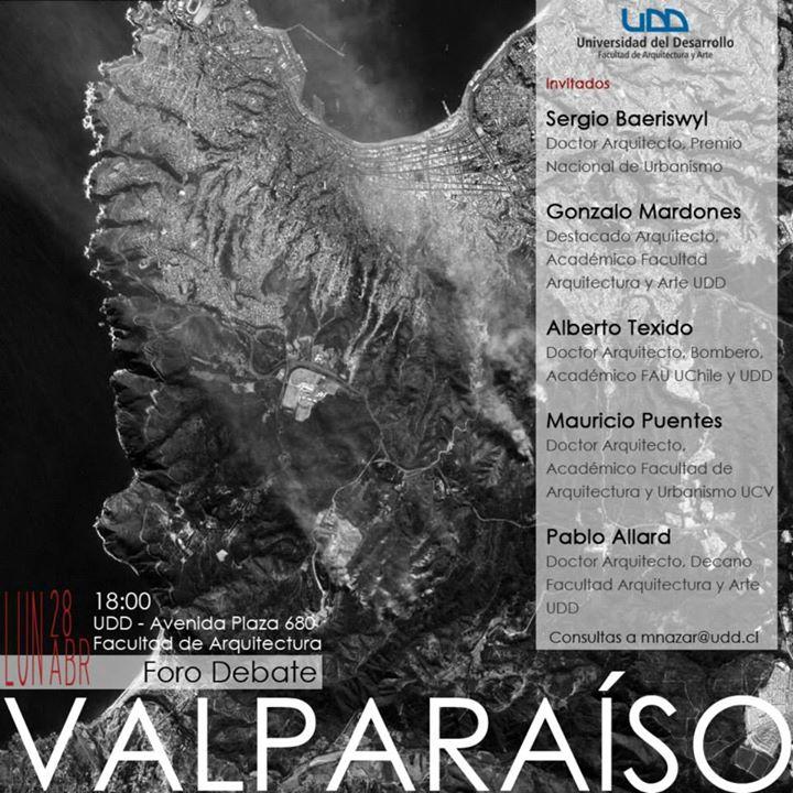 Foro debate en ARQUDD Valparaíso