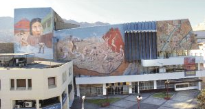 Teatro Municipal Antofagasta remodelación cobre