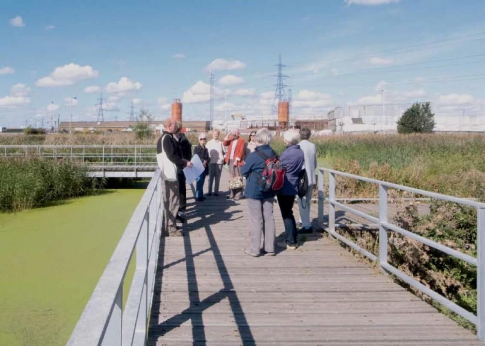 Apertura de los humedales de Rainham, Londres (UK). Fuente: Public Space