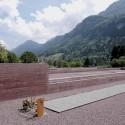 Cementerio islámico, Altach (Austria). Fuente: Public Space.