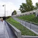 Baana - Corredor para ciclistas y peatones, Helsinki (Finlandia) 5