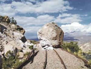 Ruta tren Arica-La Paz