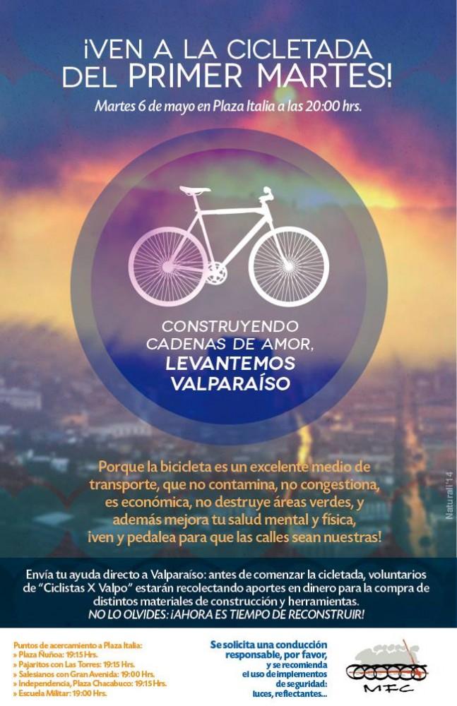Cicletada Primer Martes del Mes - Mayo 2014