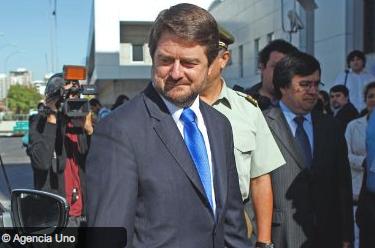 Claudio Orrego intendente Santiago