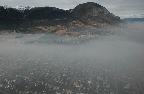 Contaminación Coyhaique