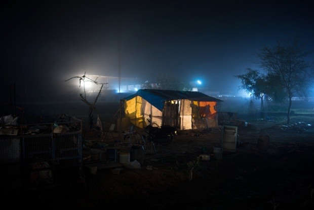 Rajastán (10.27pm). © Gavin Evans