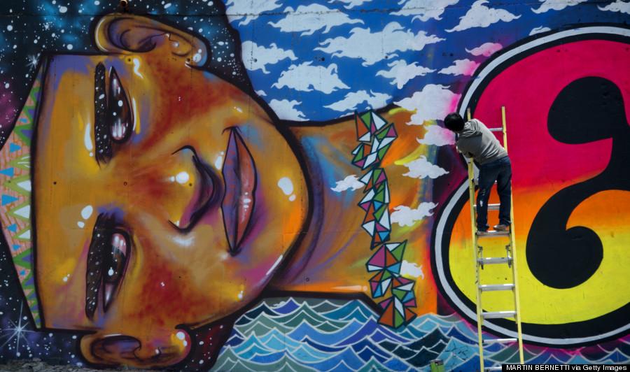 Santiago entre las 26 mejores ciudades para ver graffitis for Graffitis y murales callejeros