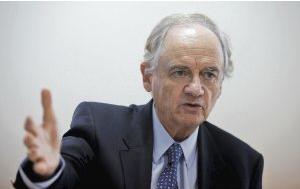 Alejandro Foxley, ex ministro de Hacienda