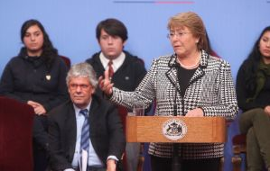 Anuncio Plan Mejoramiento Transantiago 2014 - 2018