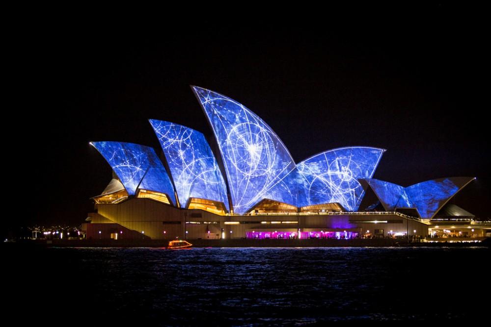 Opera House 2 Vivid Sydney 2014 Australia © Halans flickr