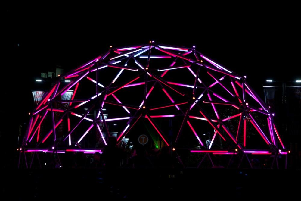 Instalación Vivid Sydney Festival 2014 Australia © jonathanpoh flickr