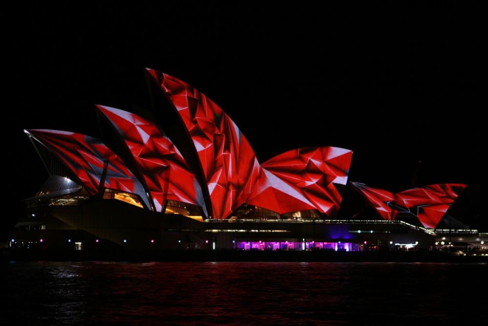 Opera House 3 Vivid Sydney 2014 Australia © Christopher Yardin flickr