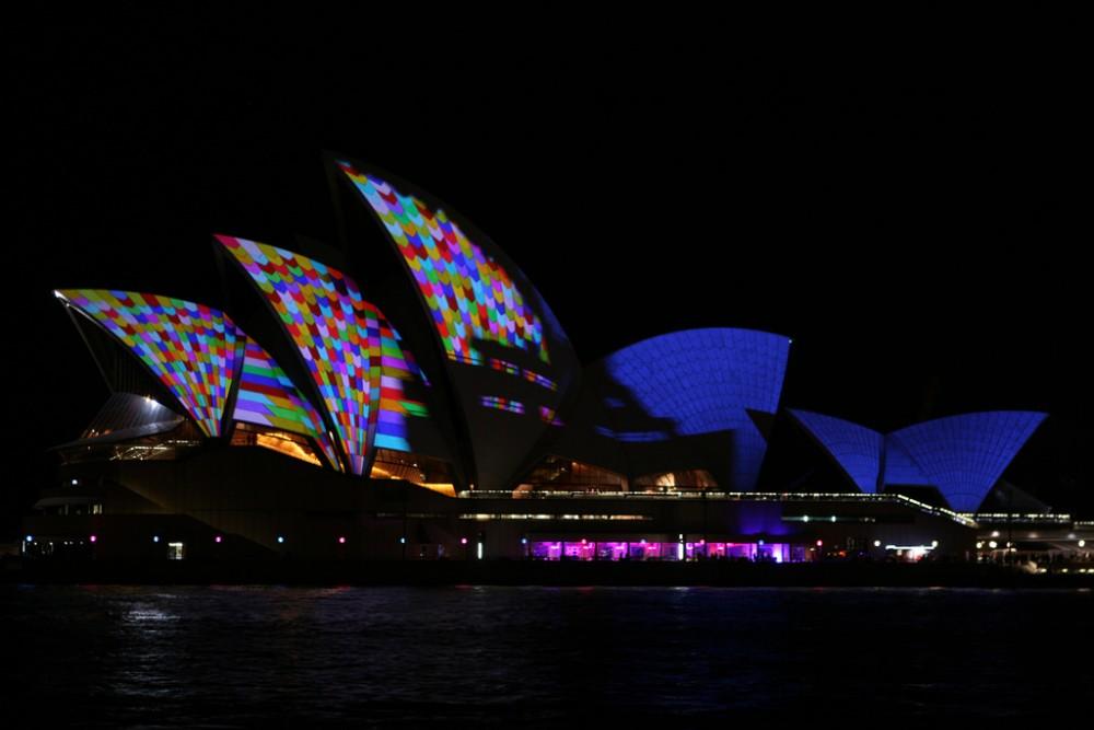 Opera House 5 Vivid Sydney Festival 2014 Australia © Christopher Yardin flickr