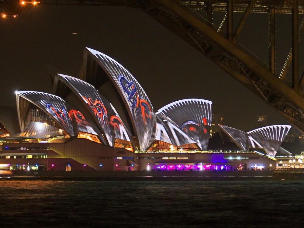 Vivid Sydney Festival 2013 Australia © Mike G Gordon flickr