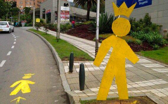 Camapaña Rey Peatón. Fuente: reypeaton.org