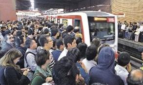 estudios para elevar capacidad en toda la red de Metro Santiago