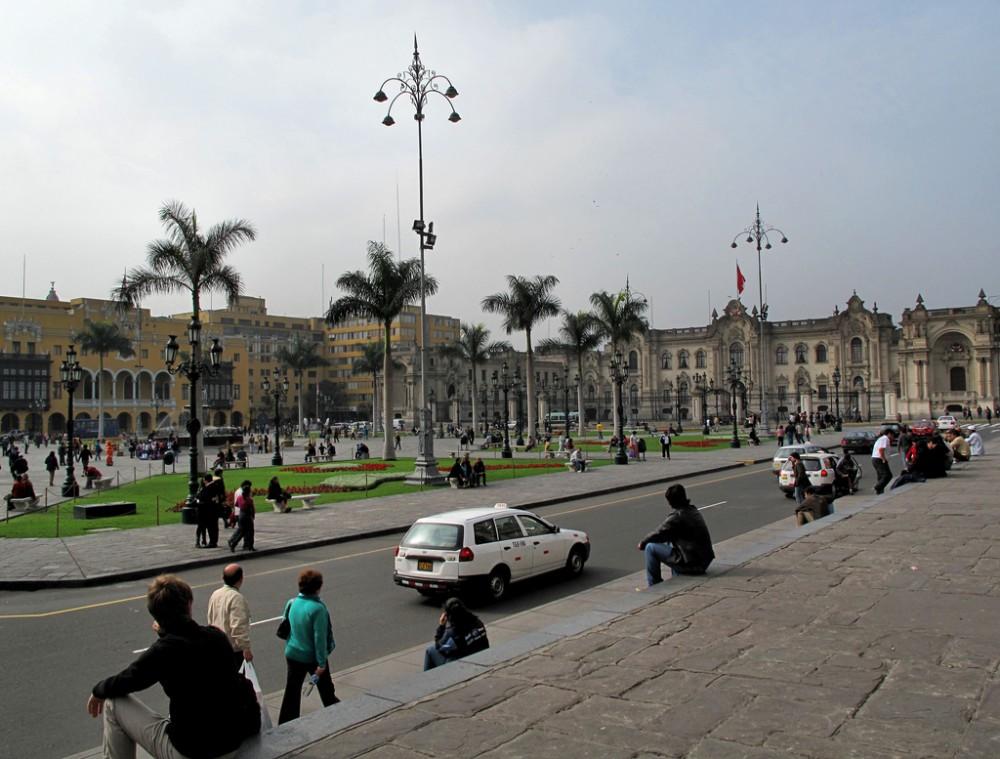 Plaza Mayor de Lima, Perú © Francisco Anzola, vía Flickr