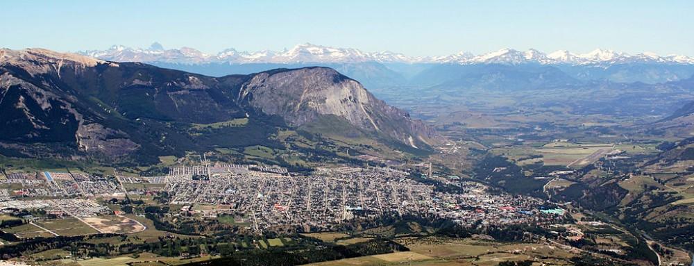 Coyhaique © Rakela, vía Wikimedia Commons