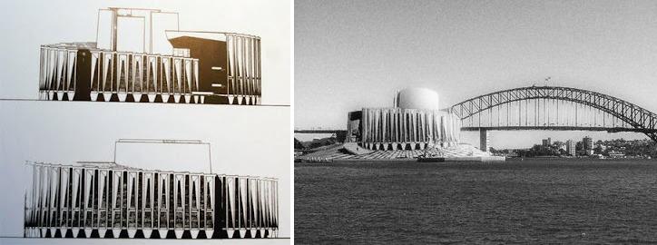 El segundo lugar de la competencia de diseño para la Ópera House en Sidney