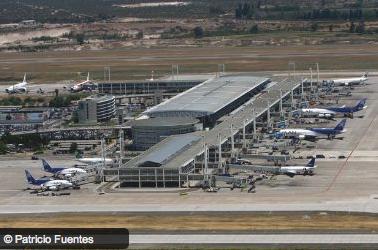 aeropuerto de santiago de chile scl