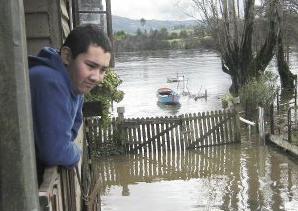temporal sur de Chile